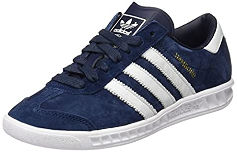 adidas Hamburg Herren Laufschuhe, Blau (Collegiate Navy/Ftwr White/Gold Met), 46