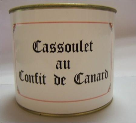Gailhou Durdos - Cassoulet Au Confit De Canard 2Kg
