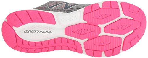 New Balance Unisex-Kinder Kjrusgup M Vazee Rush V2 Sneakers Mehrfarbig (Grey/Pink)