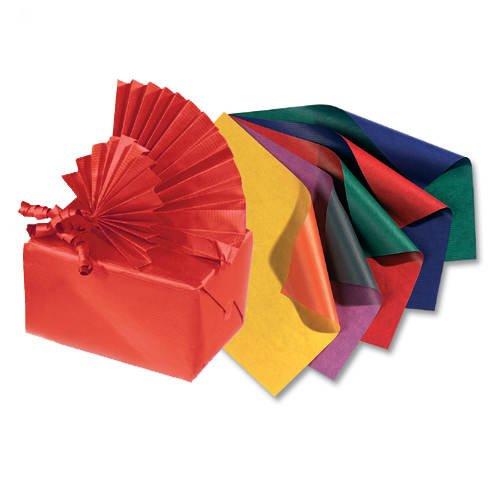 Folia Geschenkpapier blau-hochrot/3603620 70 x 200 cm