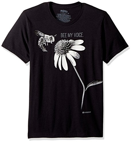 The Mountain Tri-Blend T-Shirt Unisex schwarz Be My Voice Erwachsene Größe S -