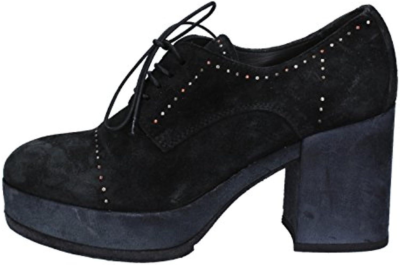 Donna   Uomo MOMA Stivaletti Donna Pelle Scamosciata Nero Facile da usare La qualità prima Imballaggio elegante e stabile | Ottimo mestiere  | Uomo/Donne Scarpa