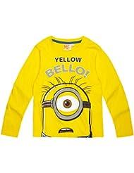 Minions Despicable Me Chicos Camiseta mangas largas 2016 Collection - Amarillo