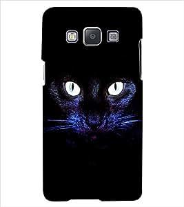 ColourCraft Cat Back Case Cover for SAMSUNG GALAXY E5