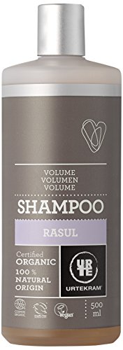 Urtekram Rasul Shampoo BIO, Volumen - für feines oder fettiges Haar, 500 ml -