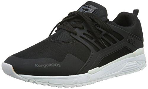 KangaROOS Runaway Roos 006, Baskets Basses Homme Noir - Noir (500)