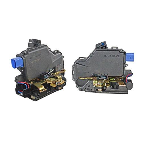 Paar hinten links + rechts Tür Lock Actuator 3b4839015ag, 3b4839015an, 3b4839016ag, 3b4839016an