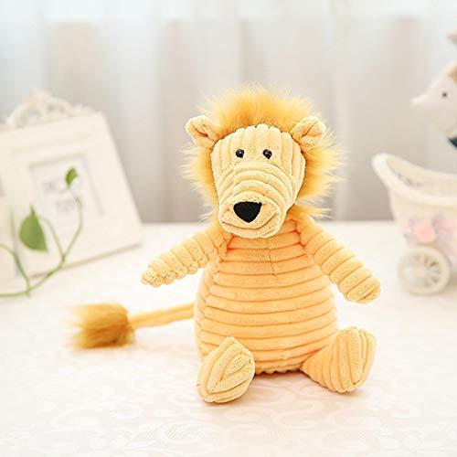 Keptei Kinder Plüschtier Plüschpuppe Cordpuppe Spielzeug Mehrfarbig Gestreifte Cord Pet Süßes Ornament Geschenk Stoffspielzeug