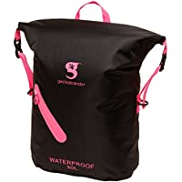geckobrands impermeable 30L ligero mochila negro/rosa brillante