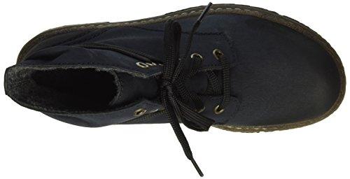 Rieker Damen 74220 Kurzschaft Stiefel Blau (pazifik / 14)