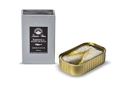 RAMON PEÑA - sardine in olio d'oliva 3/5 RR125 confezione 4 unità