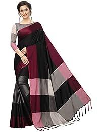 PERFECTBLUE Women`s Art Silk saree with Blouse Piece(Sa9na3shadeVariation)