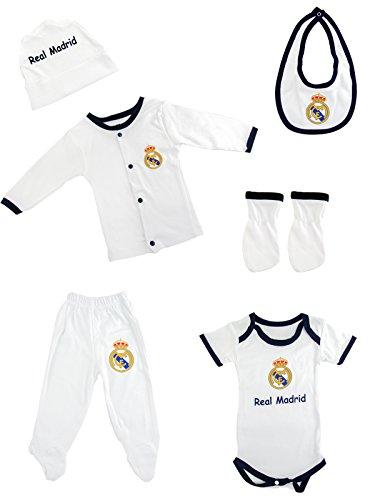 SSport Baby Born Kleidung Set Wickelset Fan Set Barcelona & Real Madrid (Real Madrid)