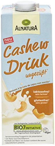 Alnatura Cashew Drink ungesüßt, 8er Pack (8 x 1 l)