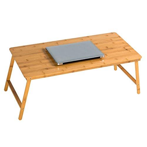 Klapptisch Portable Holzklapptisch - 4 Fuß Computertisch - Schlafzimmer kleinen quadratischen Klapptisch - TV-Catering und Kaffee und Kaffeetisch