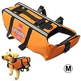 My only friend Haustier Schwimmweste Dog Pet Saver Jacket Größe: M für schwimmendes Bootfahren Surfen, Bequem