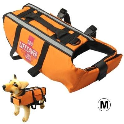 Xiaochou@sl Schwimmweste Dog Pet Saver Jacket Größe: M für schwimmendes Bootfahren Surfen, Pet equipment Sl Jacket