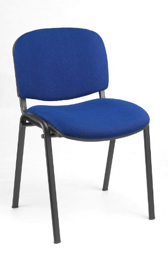 BESUCHERSTUHL STÜHLE KONFERENZSTUHL Saalstuhl Warteraumstuhl Büromöbel stapelbar blau 220201