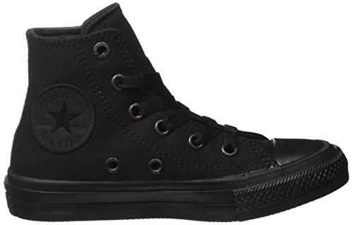 Converse Ctas II Hi, Sneakers Mixte Enfant Noir (Nero)