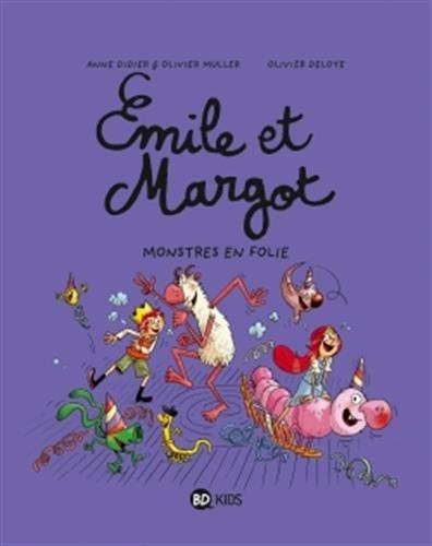 Émile et Margot, Tome 07: Monstres en folie !