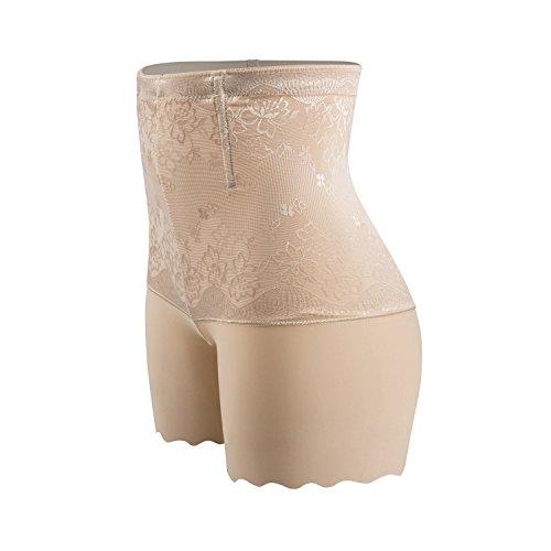 ZUIMIMI Hi-Waist Shapewear Tummy Control Body Shaper Thigh Slimming Boyshort Seamless Underwear For Women