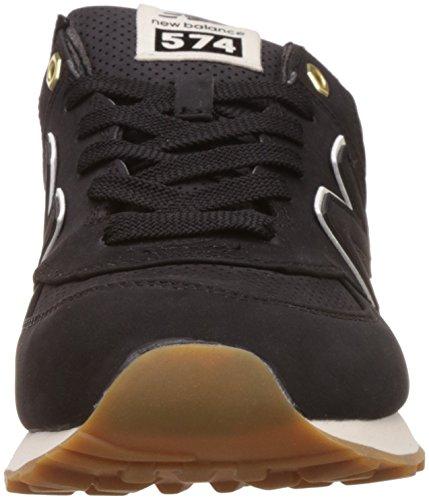 Scarpe nero 574 Nero Equilibrio Basse Uomo Nuovo BfZtqn