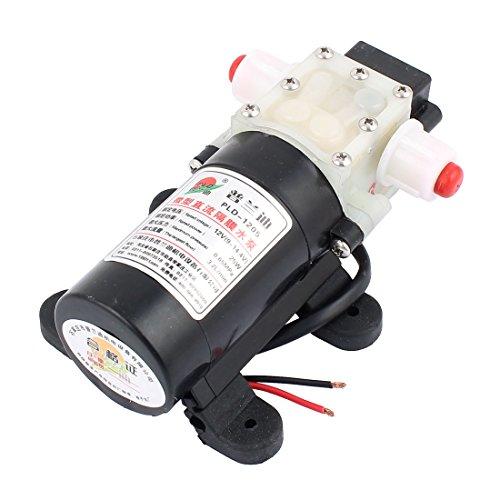 sourcingmap® DC 12V 25W Micro Motore Pompa 10mm Filettatura Outlet Aspirazione Pompa A Membrana
