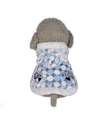 Culater® Inverno Vestiti del Cane per Cani di Piccola Taglia Pet Caldo  Cappotti Vestiti del Cane Giacca Francese… c9c858f5a7b