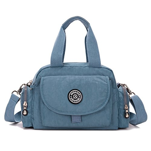 TianHengYi - Sacchetto donna Azzurro