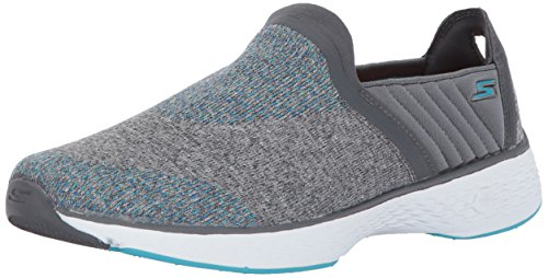Skechers Go Walk sport Supreme slip on scarpa da walking donna Gray / Blue