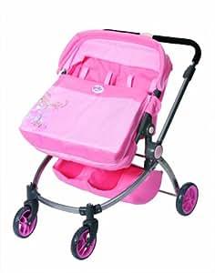 baby born poupon poussette jogger pour jumeaux jeux et jouets. Black Bedroom Furniture Sets. Home Design Ideas