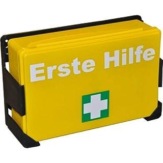 2 x Erste Hilfe Koffer K-04 gelb, leer ohne Inhalt