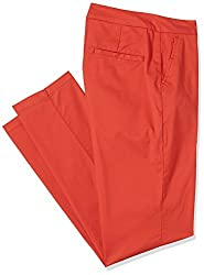 Allen Solly Womens Chino Pants (AWPN316B00235_Red_086)