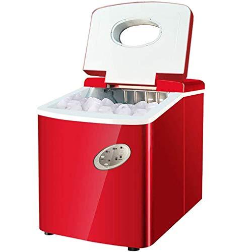 YHLZ Eismaschine Gewerbe 18kg Tea Shop Kleiner rundes EIS manuell Wasser Automatische Eisherstellungsmaschine Haus mit 3 Wählbare Kugel Rund Ice Größe, 3L Fassungsvermögen Wassertank