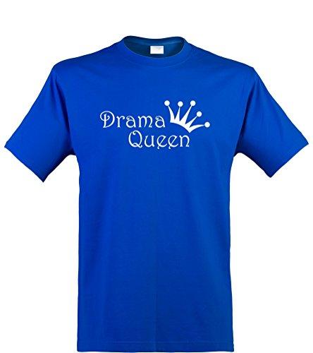 ren T-Shirt, Drama Queen, Royal, Gr. XXL (Royal Queen Kind Kostüme)