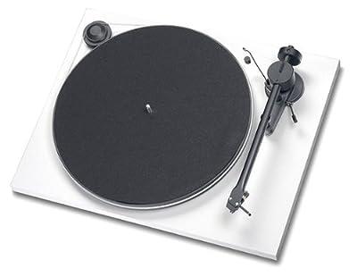 Pro-Ject ESSENTIAL Bianco Giradischi compreso di braccio e di testina Ortofon OM 3E prezzo scontato da Polaris Audio Hi Fi