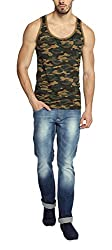 Difference of Opinion Mens Cotton Vest (DOCAMO015012, Multi-Coloured, XXXX-Large)