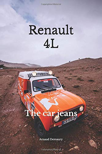 Renault 4L: The car jeans por Arnaud Demaury