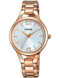 Pulsar - PH8190X1 - Montre Femme - Quartz - Analogique - Bracelet Acier Inoxydable Or et Rose
