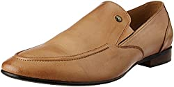 Alberto Torresi Mens Tan Leather Formal Shoes - 10 UK/India (44 EU)