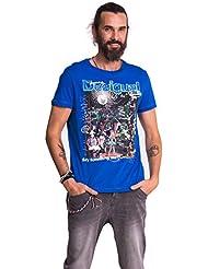 Desigual - T-shirt - Col ras du cou - Manches courtes Homme