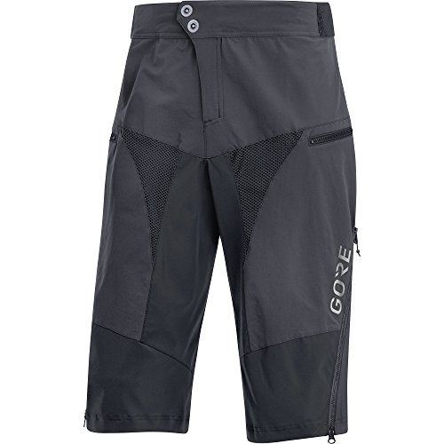 Gore Wear C5 All Mountain Pantalón Corto, Hombre, Gris (Gris Terra), XXL