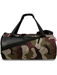 Sfane Unisex Polyester Leather Army Print Duffel Gym Bag (Multicolour) c68304e8fd98e