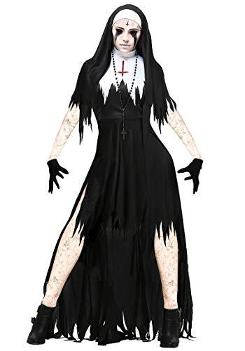 Simmia Halloween Kostüm,Halloween Red Devil Kostüm Hexe Reparatur Frauen Bull Teufel Dämon Zombie Bühne, 3351, S