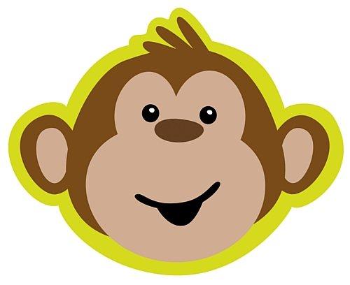 Monkeyin'um Kinder Party-Einladungen Affen-Form, 8 Stück