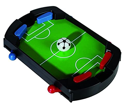 Smiley Gifts - Desktop Sports Games - Plastic Table Top Football - Great Christmas, Secret Santa Gift For Men, Man, Gents, Him - One Supplied