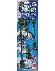 Behrfishing 99-238 72 - Guías de alambre de pesca de 15, 20 y 35cm (10kg)