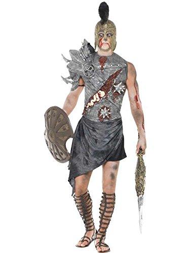 zombie Kostüm Gladiator, Größe (Gladiateur Kostüm)