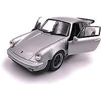 Producto de licencia de automóvil modelo Welly Porsche 911 Turbo 930 1975 1: 34-