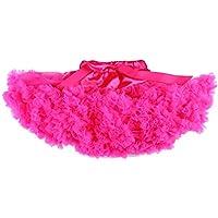 Moresave Neonate Dancewear Ruffle Chiffon Fluffy Tutu Pettiskirt